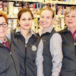 Molkereiabteilung = Frau Marks, Frau Kilimann, Frau Dubanevich, Frau Achenbach