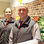 Obst und Gemüse = Herr Schurmann, Frau Kohlstadt